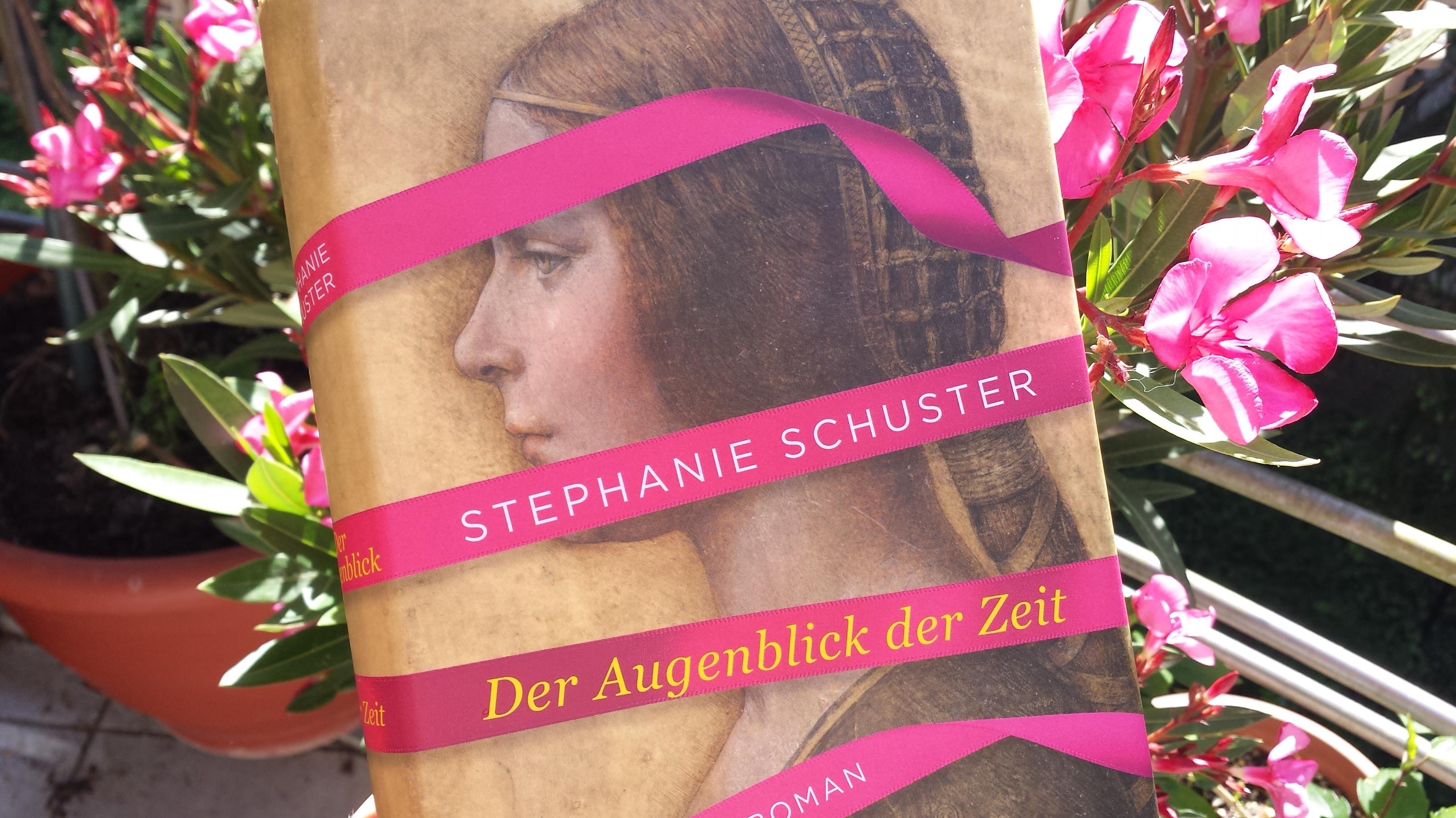 Der Augenblick der Zeit, von Stephanie Schuster