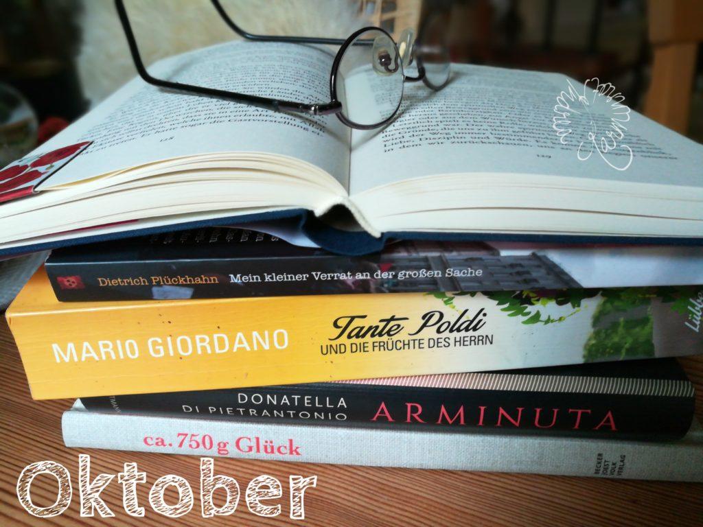 Oktober-Bücher