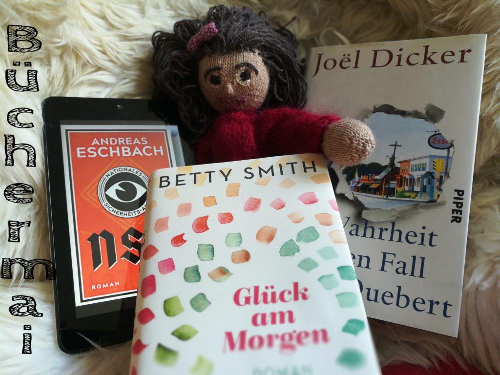 Meine Mai-Bücher, Eschbach, Smith,Dicker...