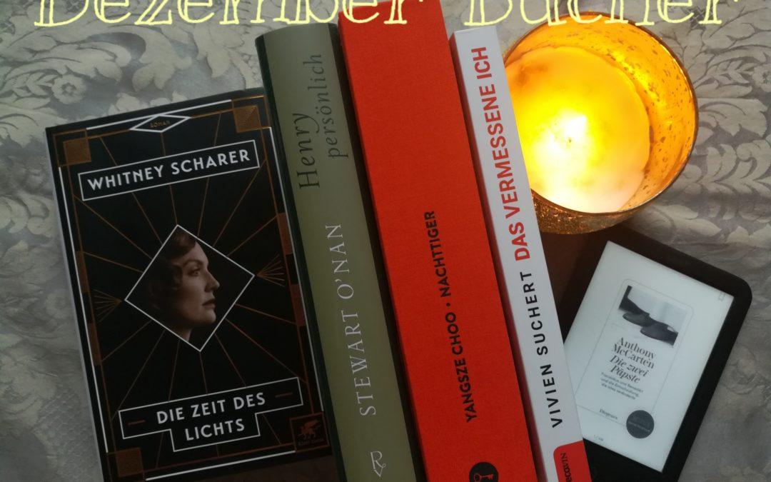 Dezember-Bücher oder Winterzeit ist Lesezeit