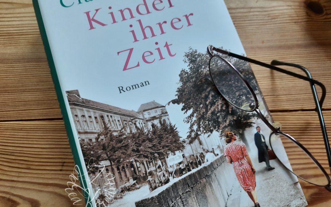 Kinder ihrer Zeit {Roman von Claire Winter}