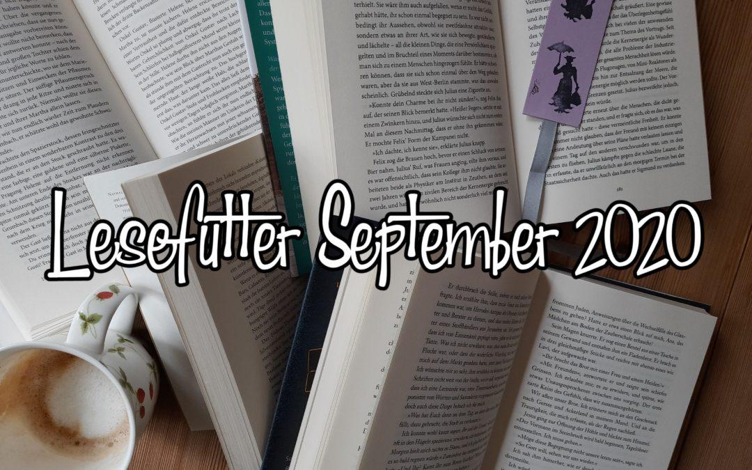 Lesefutter für den September
