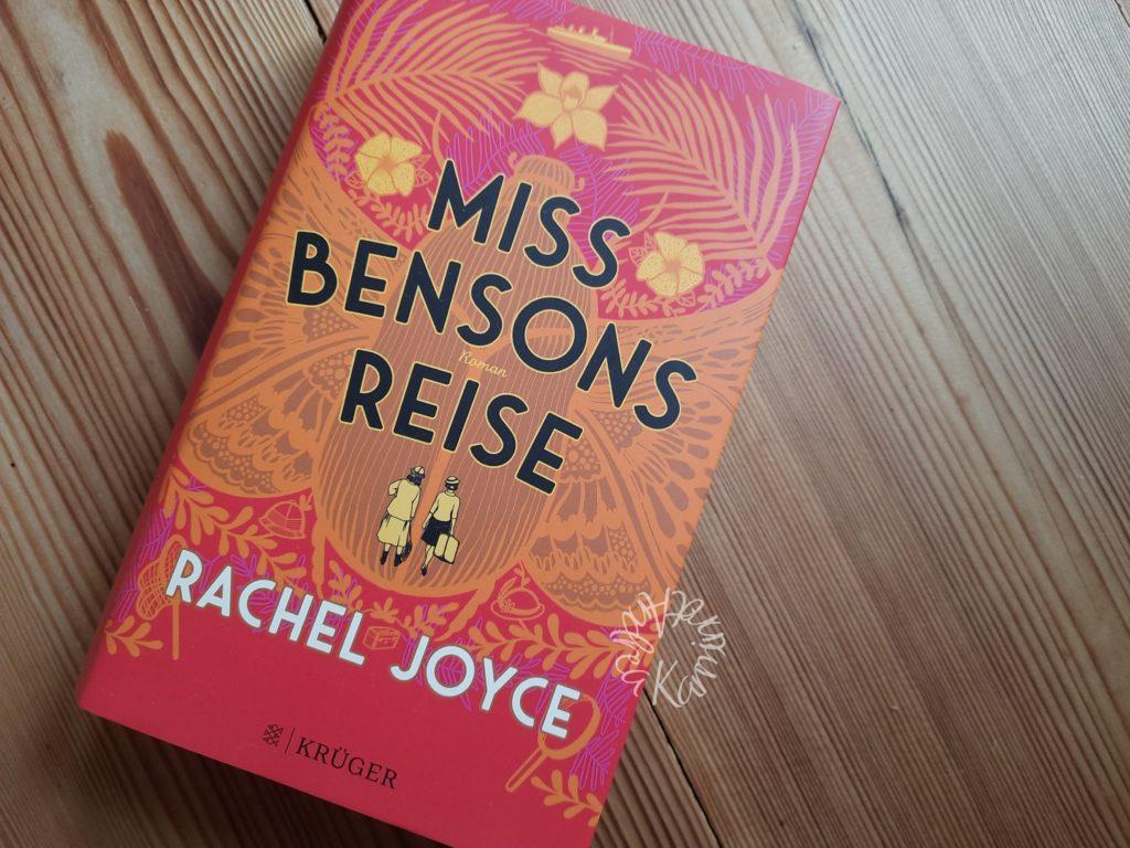 Miss Bensons Reise, ein richtig schönes Cover