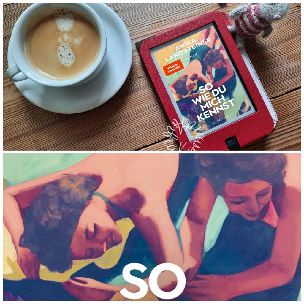 Collage aus dem Cover So wie du mich kennst und dem Kaffee-Ebookbild von oben