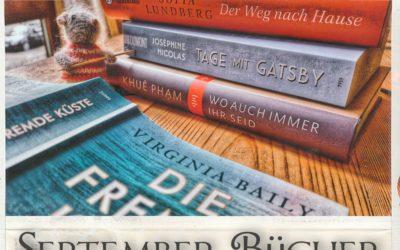 Viel zu viele Bücher {September-Bücher 2021}